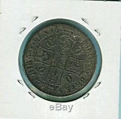 Grande-bretagne- Belle Historique Charles II Mélodieuses Couronne, 1673, 435 Km #