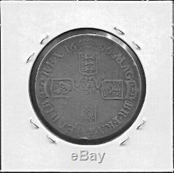 Grande-bretagne- Belle Historique William III Mélodieuses Crown, 1696 Km # 486