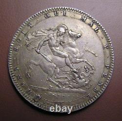 Grande-bretagne Couronne D'argent 1820 George III