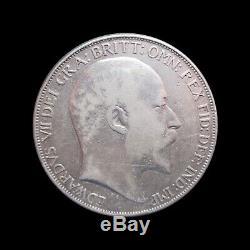 Grande-bretagne Couronne Edouard VII 1902 Argent 803 Km # 882 #