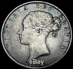 Grande-bretagne Demi-couronne 1883 La Reine Victoria A46-520