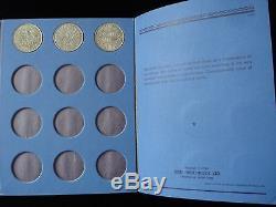 Grande-bretagne Demi-couronne Ensemble Argent Monnaie 1920 1946 #nla