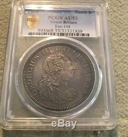 Grande-bretagne George III 1804 Banque Dollar Pcgs Au53