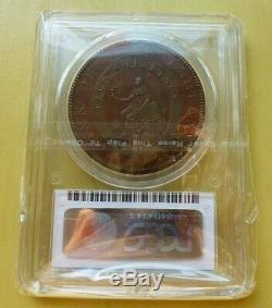 Grande-bretagne George III Modèle De Cuivre Bank Of Eng. Dollar 1804 Pcgs Pr55 Rare
