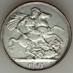 Grande-bretagne George IV Couronne 1821, Km680.1. Silver Coin