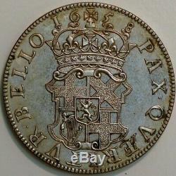 Grande-bretagne Half Crown 1658 Oliver Cromwell Grand Brethania