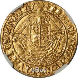 Grande-bretagne Henry VII (1505-1509) Ange D'or Ngc Au-53