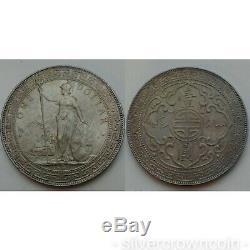 Grande-bretagne Royaume-uni Hong Kong 1 Dollar Trade 1897b. Km # T5.900 Silver Crown Pièce