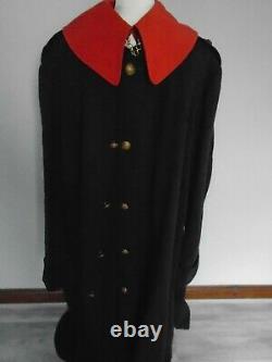 Household Cavalry Blues & Royals Vintage Officers Cloak Kings Crown Daté De 1929
