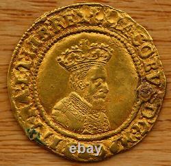 James I (1603-25) Crown Britannique, 1607, Bon Portrait. Réparé