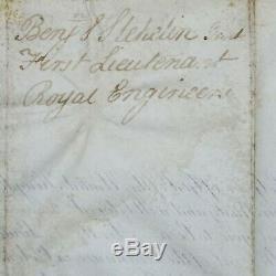King William IV Document Signé Autograph La Couronne Dowton Abbaye Royale Militaire