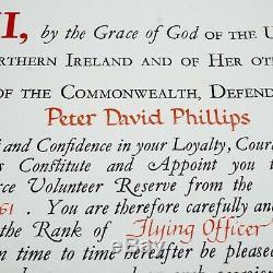 La Reine Elizabeth II A Signé Nomination De Document The Crown Dowton Abbey Autograph