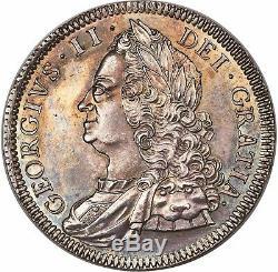 Ngc 1746 Grade Le Plus Élevé En Grande-bretagne George II La Preuve De La Couronne Ngc Pf65