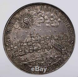 Ngc-au58 1633 Grande-bretagne Retune De Charles I À Londres Médaille D'argent Rare