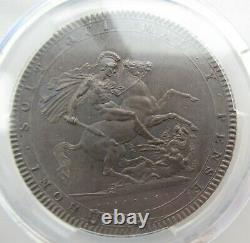 Pcgs Ms61 Grande-bretagne Royaume-uni 1819 King George III Silver Coin 1 Couronne