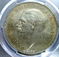 Pcgs Ms63 Shield Gold-grande-bretagne 1935 George V Argent Une Couronne Bu Scarce