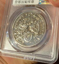 Pcgs Sp62 Grande-bretagne Royaume-uni 1902 Edward VII Couronnement Médaille Commémorative D'argent