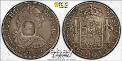 Pcgs Vf30 1804 Grande-bretagne Dollar-octogonal Counterstamp Mexique 1785 8r-rare