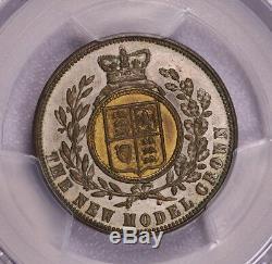 Pcgs-ms63 1848 Grande-bretagne Couronne