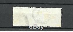 Qv 1884 £ 1 Brun-lilas Wmk Couronnes Sg 185 Bien Utilisé 2x CD C £ 3000