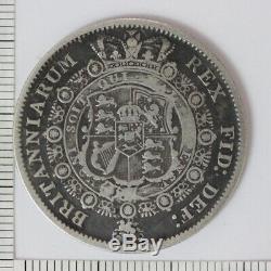 Royaume-uni Britannique Grande-bretagne 1817 1/2 Demi-couronne Roi George III (3232433d5)