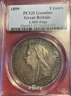 U. K. Grande-bretagne 1899 Couronne Pcgss Coin