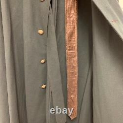 Vintage Kings Crown Irish Guards Pipe Major Green Cloak Cape, British Military