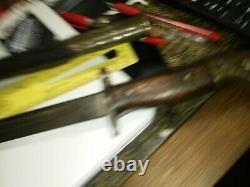 Wilkenson M1907 Baïonnette Avec Couronne Et Orig. Ww1 Scabberd. Nice Pour Les 112 Ans